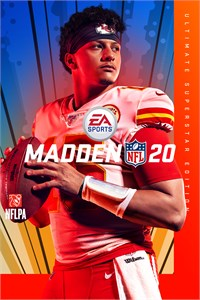 Carátula del juego Madden NFL 20: Ultimate Superstar Edition