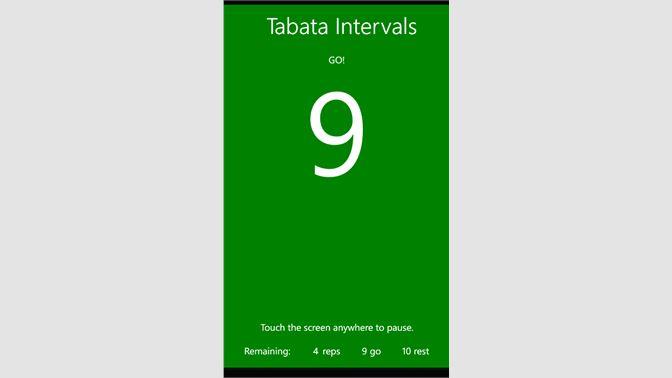 Get Tabata Intervals - Microsoft Store