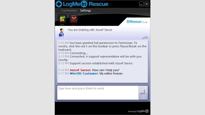 logmein download windows 10