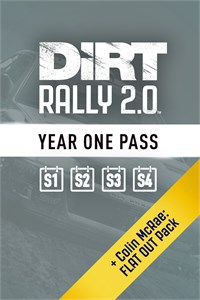 Carátula del juego DiRT Rally 2.0 Year One Pass