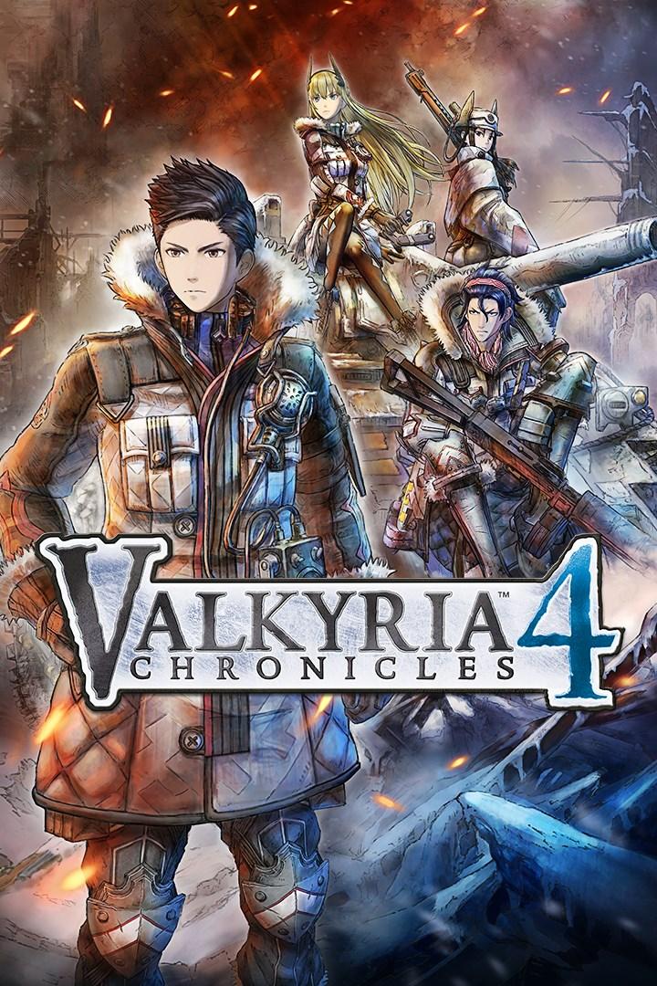 Valkyria Chronicles 4 imagem da caixa