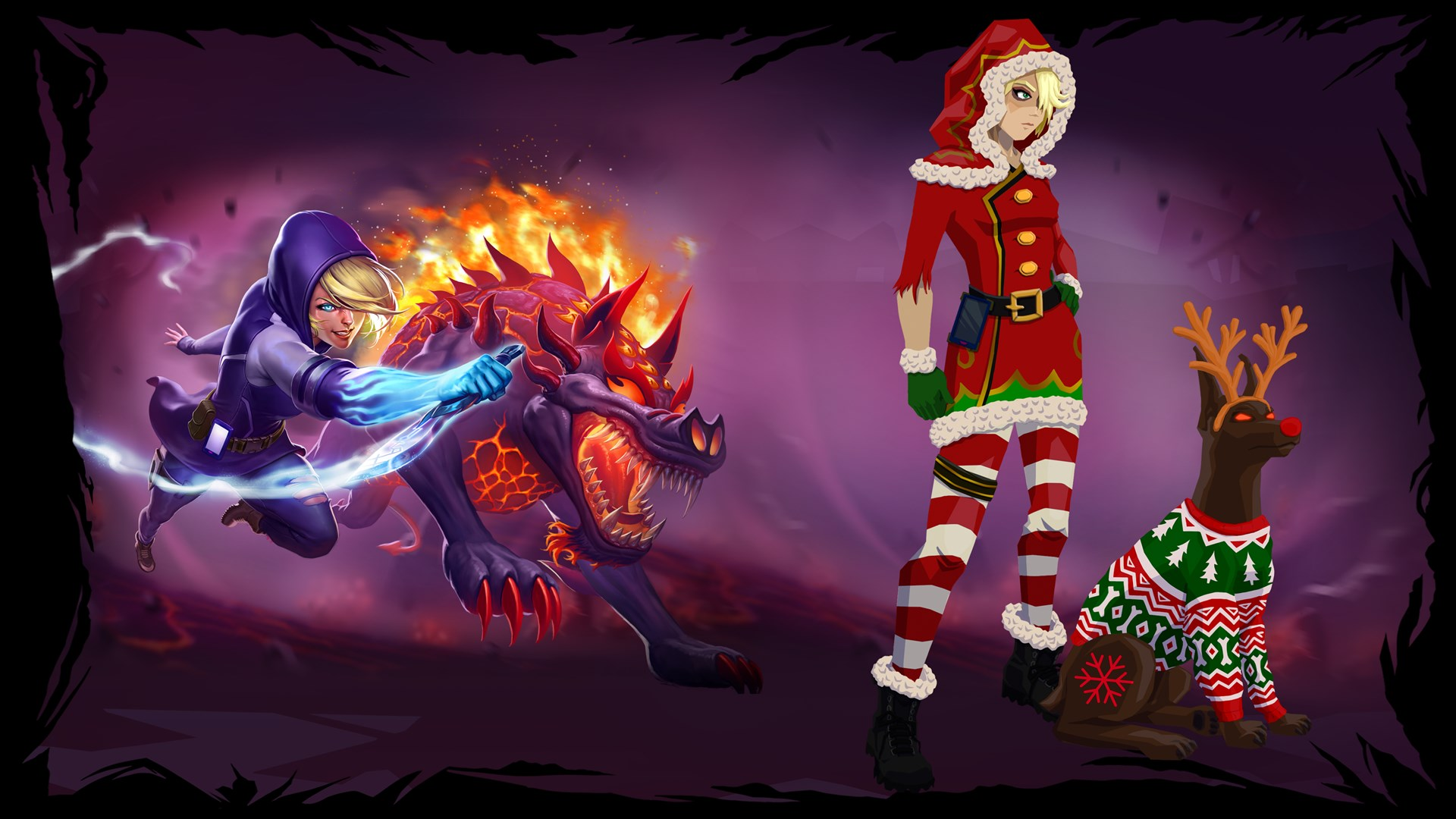 Obey Me - Christmas Skin Pack