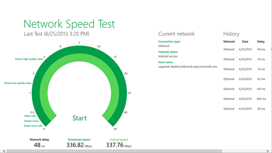 Network Speed Test screenshot 2
