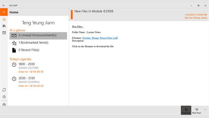 Buy IVLE (Windows 10) - Microsoft Store en-SG