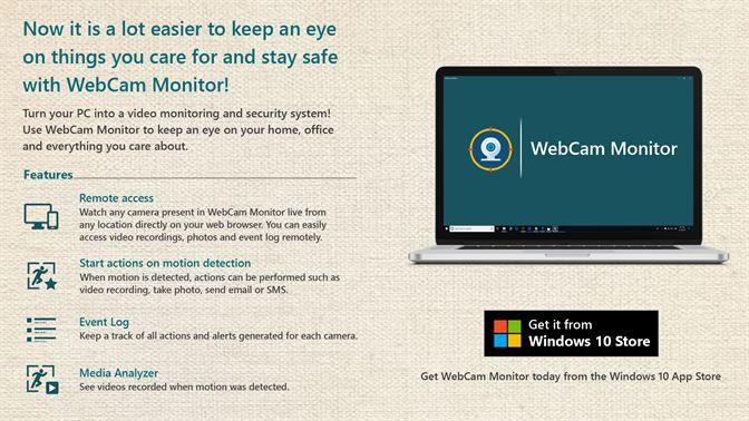 Get WebCam Monitor - Microsoft Store