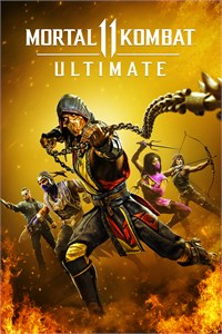 Carátula del juego Mortal Kombat 11 Ultimate