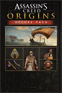 Carátula del juego Assassin's Creed Origins - Deluxe Pack