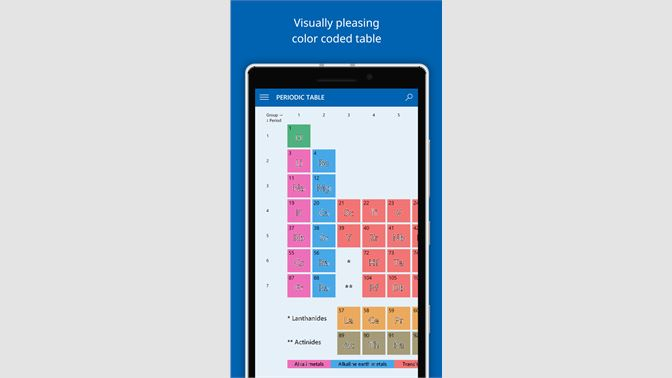 Get elements the periodic table microsoft store screenshots urtaz Gallery