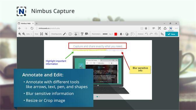 Get Nimbus Screen Capture - Microsoft Store en-GU