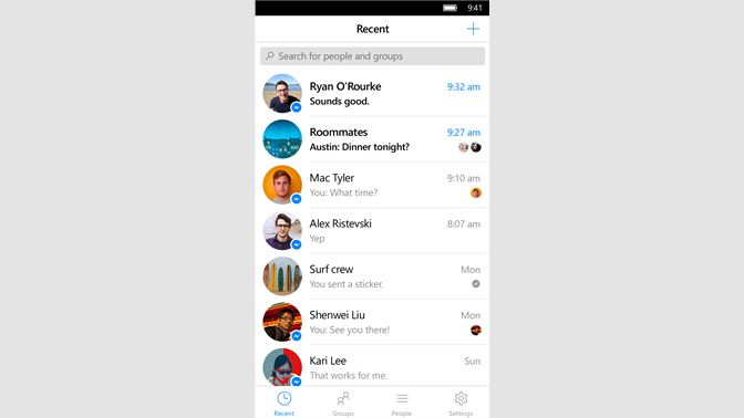 download facebook messenger for pc free