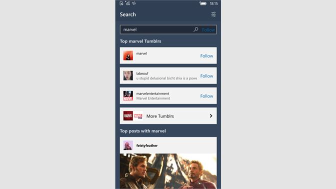 Get Ouga - Tumblr App - Microsoft Store