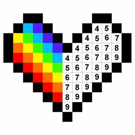 get pixel art color by number pages microsoft store. Black Bedroom Furniture Sets. Home Design Ideas