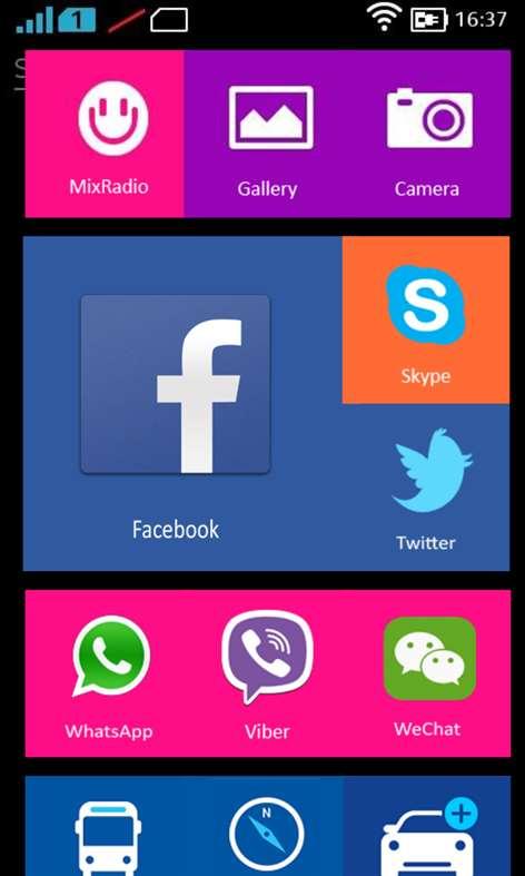 Nokia X Launcher Screenshots 2