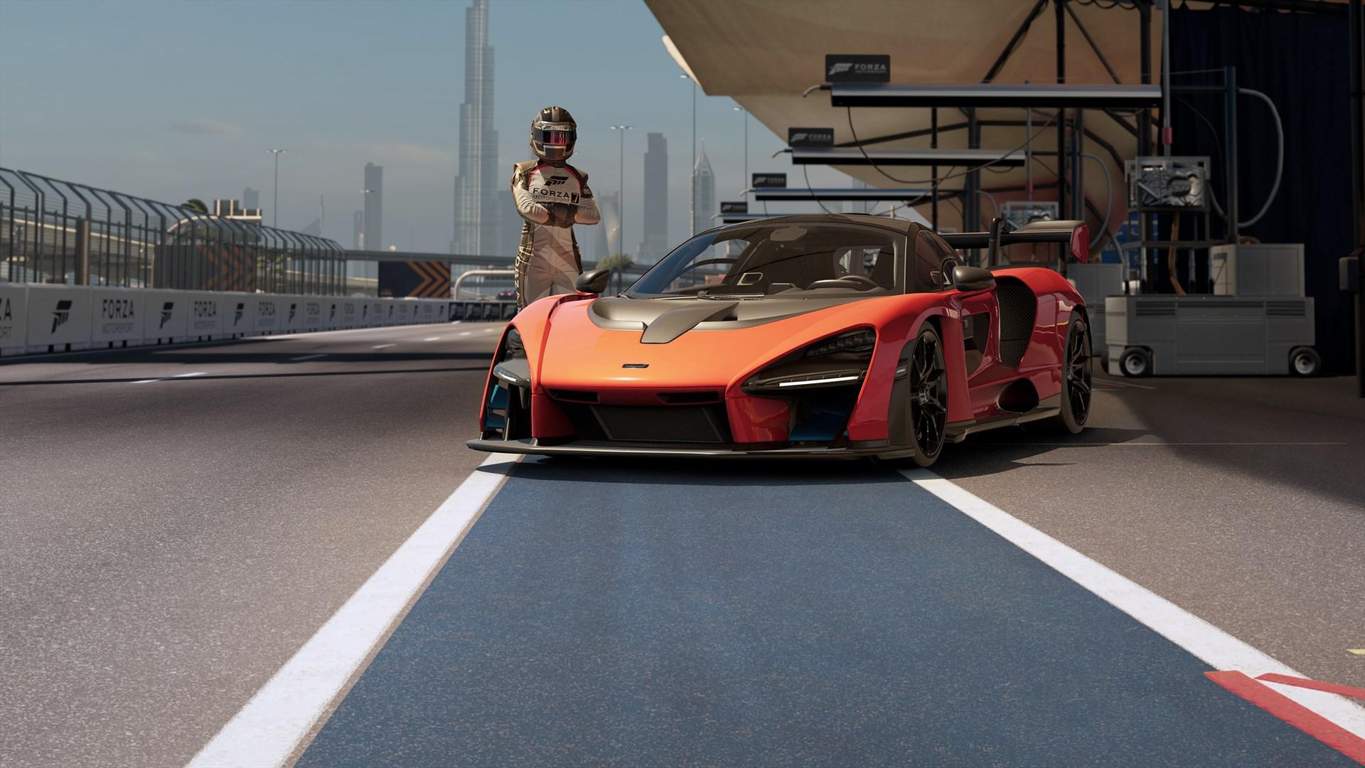 Forza Motorsport 7 2018 年份的 McLaren Senna