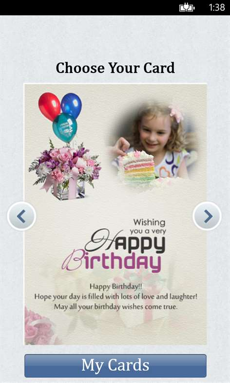 Birthday Cards Screenshots 2