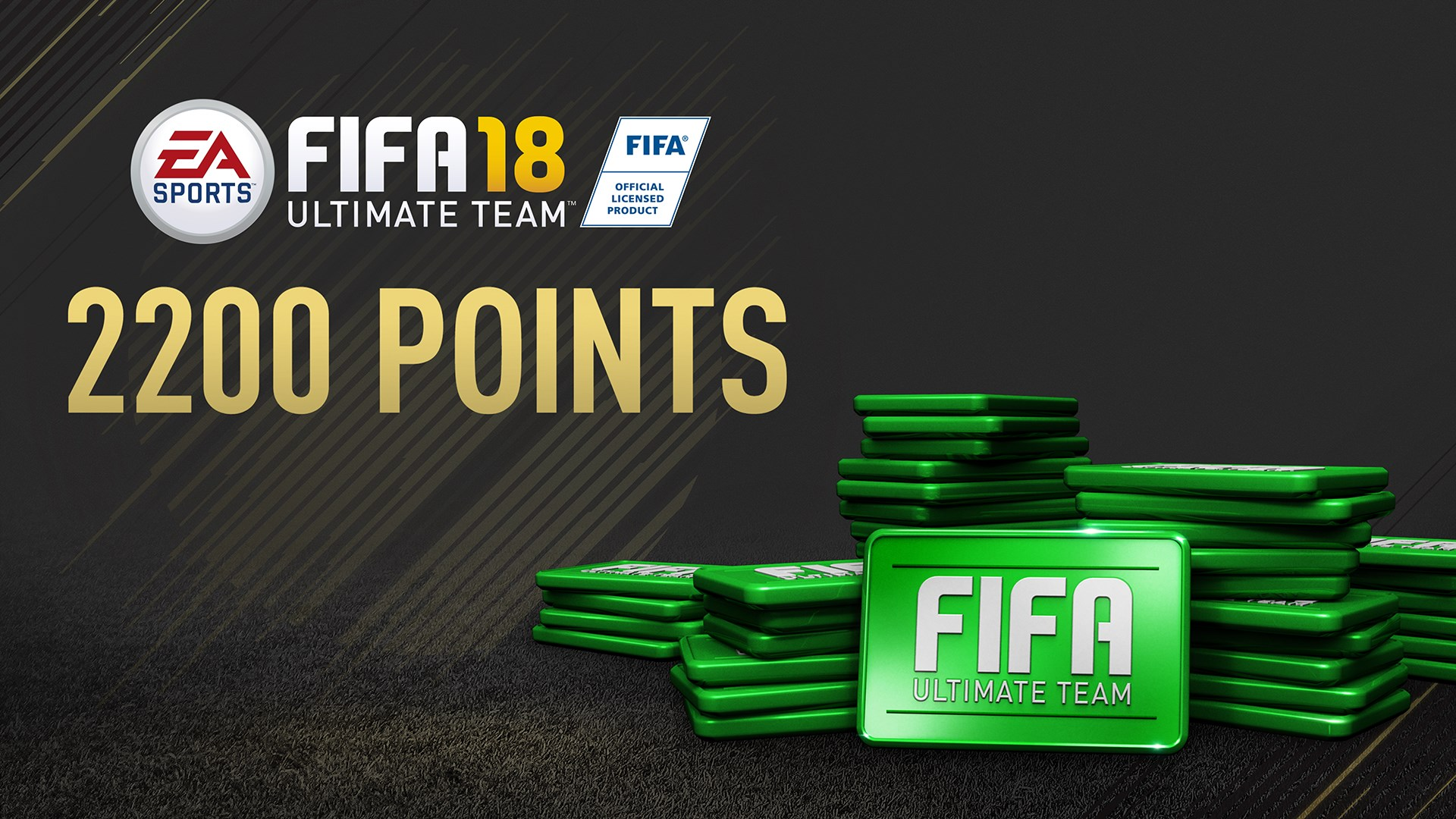 2200 FIFA 18 Points Pack