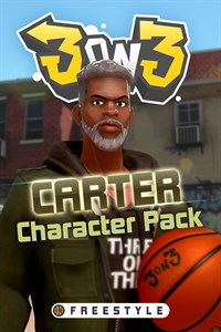 Carátula para el juego 3on3 FreeStyle – Carter Character Pack de Xbox 360