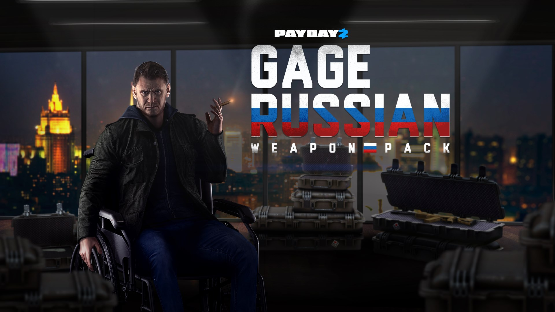 PAYDAY 2: CRIMEWAVE EDITION - Gage Russian Weapons Pack