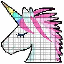 Get Pixel Art Sandbox Number Coloring Book Color by Number