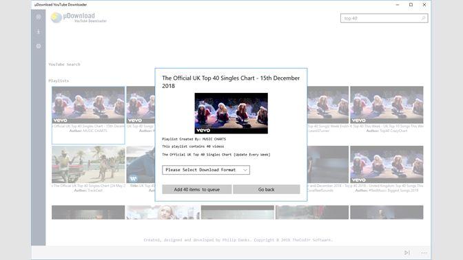 Get uDownload YouTube Downloader Free - Microsoft Store
