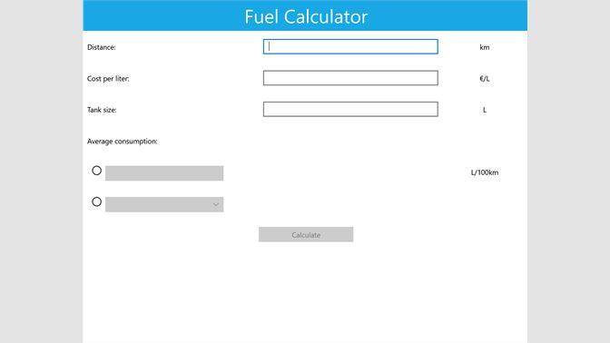 Get Fuel Calculator - Microsoft Store en-NG