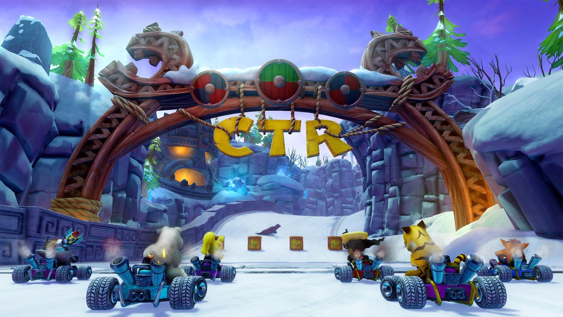 Скриншот №9 к Crash™ Team Racing Nitro-Fueled - издание Nitros Oxide