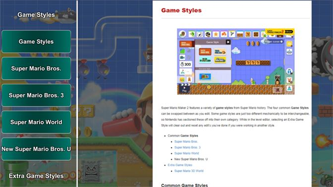 Buy Super Mario Maker 2 Guide by GuideWorlds com - Microsoft Store