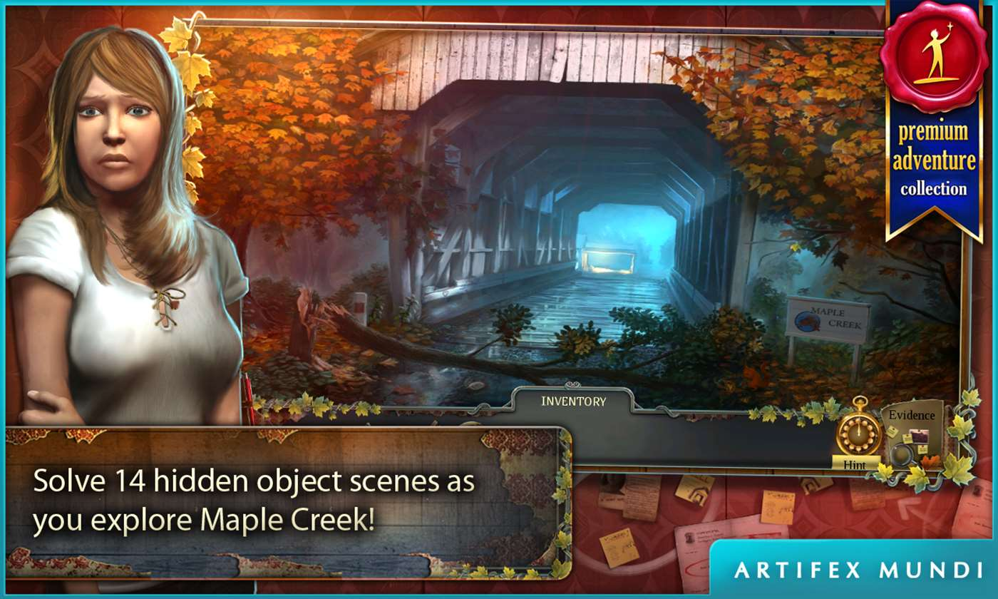 Enigmatis: The Ghosts of Maple Creek for Windows Phone full screenshot
