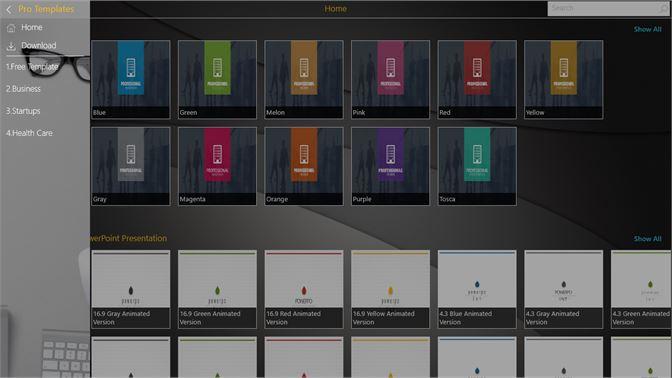 Obter pro powerpoint templates microsoft store pt br captura de ecr toneelgroepblik Choice Image