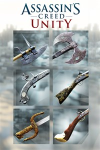 Carátula para el juego Assassin's Creed Unity - Revolutionary Armaments Pack de Xbox 360