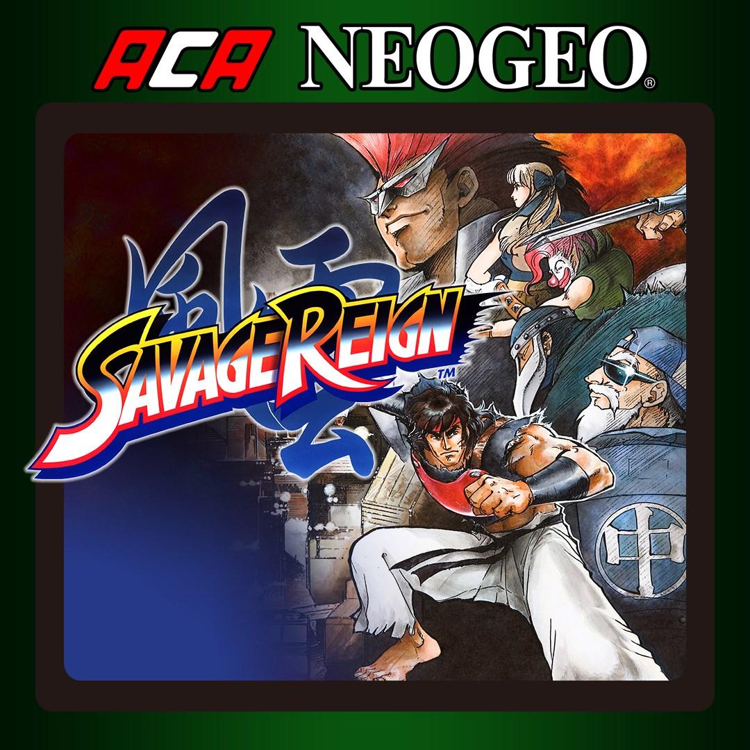 Aca Neogeo Savage Reign