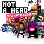 NOT A HERO: SUPER SNAZZY EDITION Logo