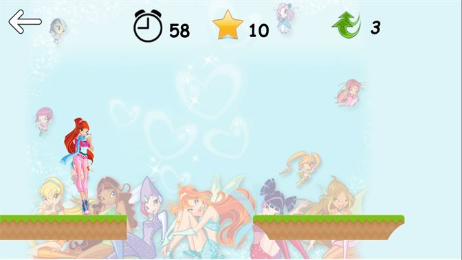 Screenshot Select The Level Game