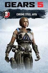 Anya acier chromé