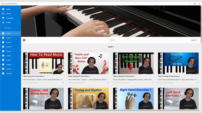 Buy Teach Yourself To Play Piano - Microsoft Store