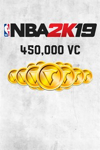Carátula del juego NBA 2K19 450,000 VC