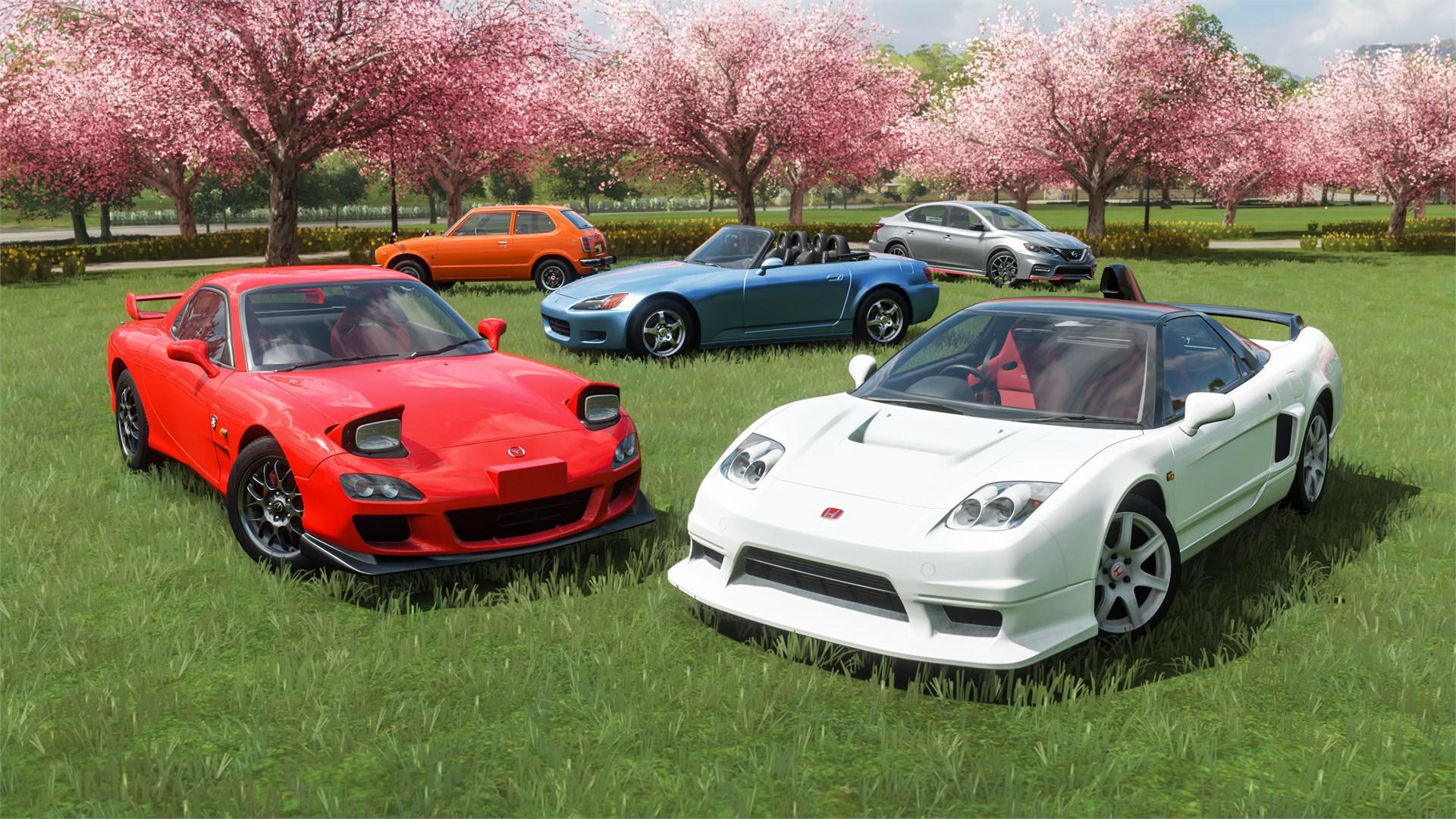 Pack de voitures Héroïnes japonaises Forza Horizon 4