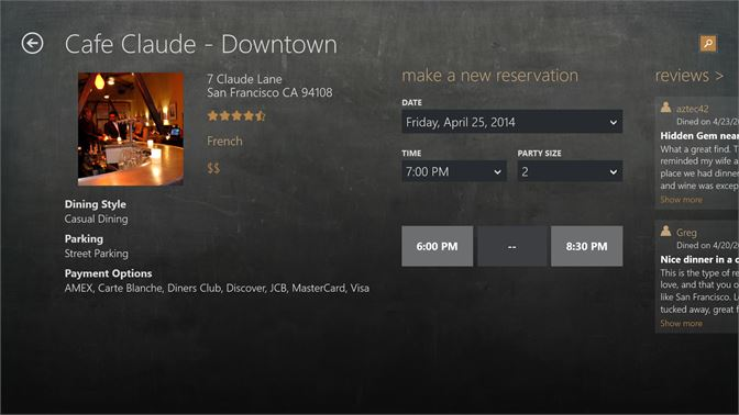 Get OpenTable Microsoft Store - What is open table reservation