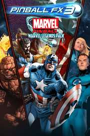 Carátula del juego Pinball FX3 - Marvel Pinball: Marvel Legends Pack
