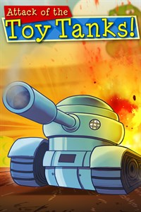 Carátula del juego Attack of the Toy Tanks