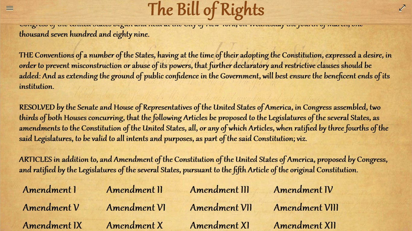 in reviewing the bill of rights discuss which amendment has the biggest influence on businesses give In its first hundred years, the united states supreme court interpreted the constitution's bill of rights as a limit on federal government, and considered the states bound only by those rights granted to its citizens by their own state constitutions.
