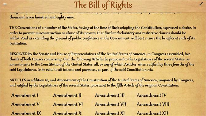 the united states bill of rights を入手 microsoft store ja jp