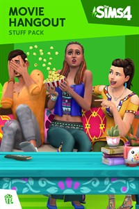 Carátula del juego The Sims 4 Movie Hangout Stuff