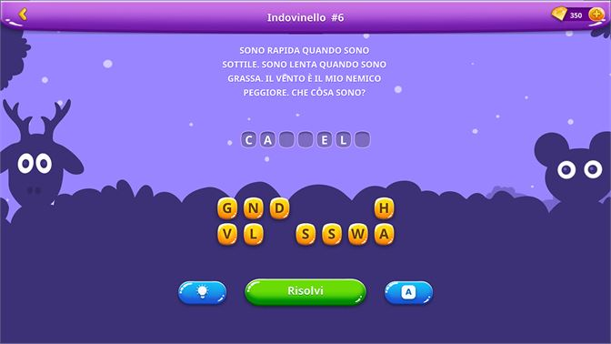 Acquista Indovinelli Con Soluzioni In Italiano Microsoft Store It Va