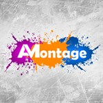 AMontage   Create awesome GIF & Video animation Logo