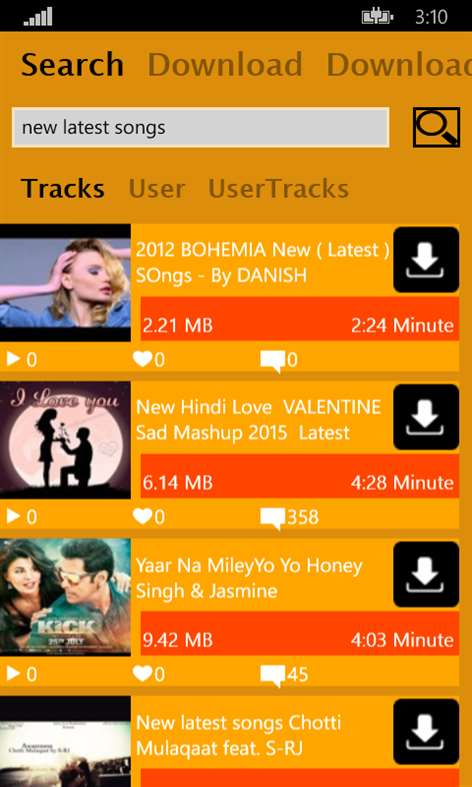 Mp3 Download Unlimited Screenshots 1