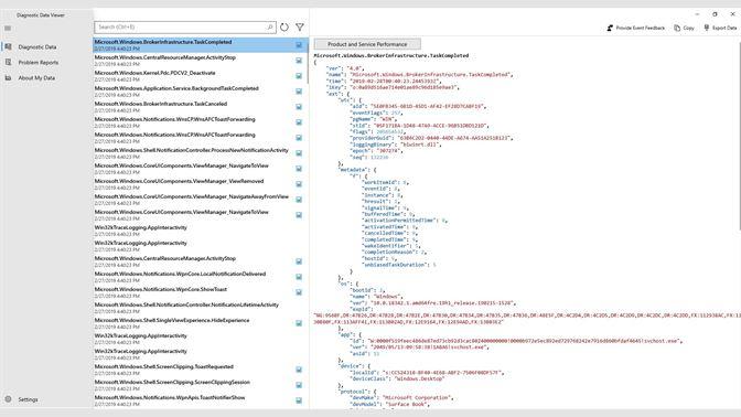 Get Diagnostic Data Viewer - Microsoft Store