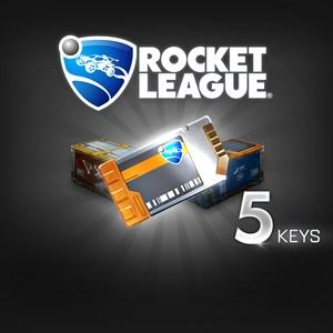 ROCKET LEAGUE® - UNLOCK KEY x5 Xbox One