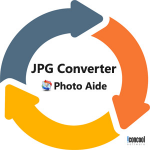 JPG Converter - Photo Aide,Convert JPG to/from 130/500 Image Formats Logo