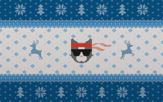 Ninja Cat Holiday Escape screenshot 2